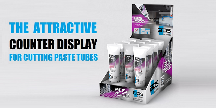 Free Counter Display For BDS 7500 Cutting Paste Tube