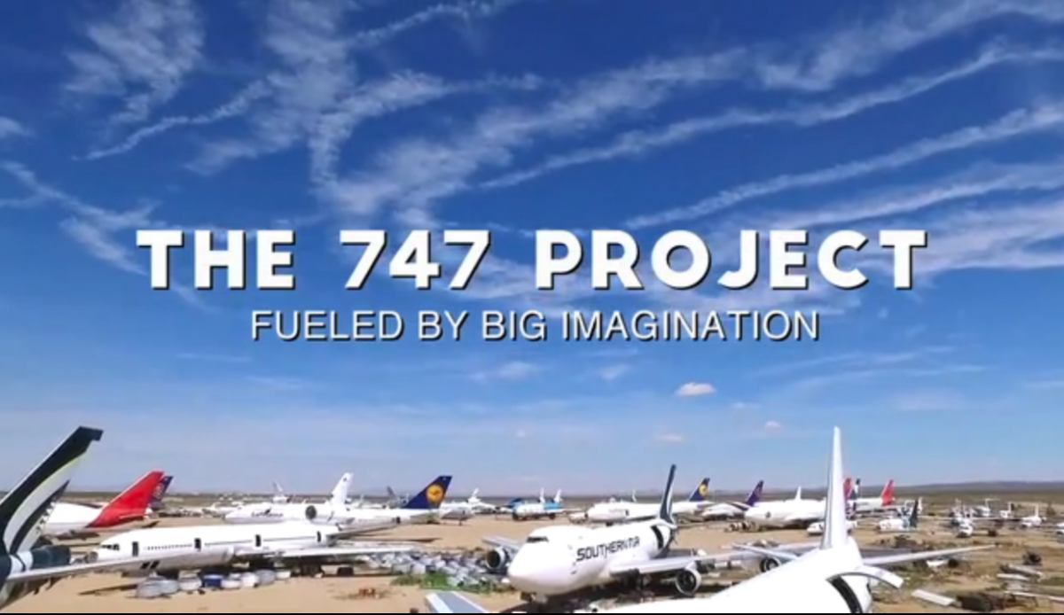 Drilling A Boeing 747 With BDS Magnetic Drilling Machine