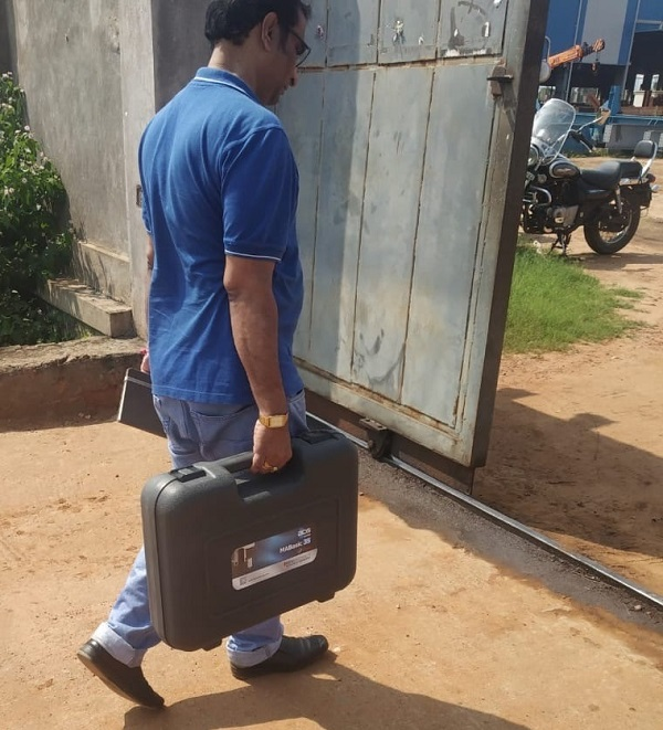 demo of first mabasic 35 in south india