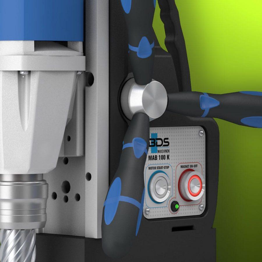 magnetic drilling machine handles