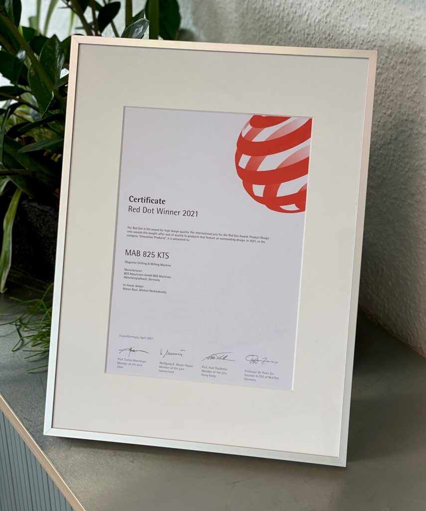 Red Award Winner Certificate