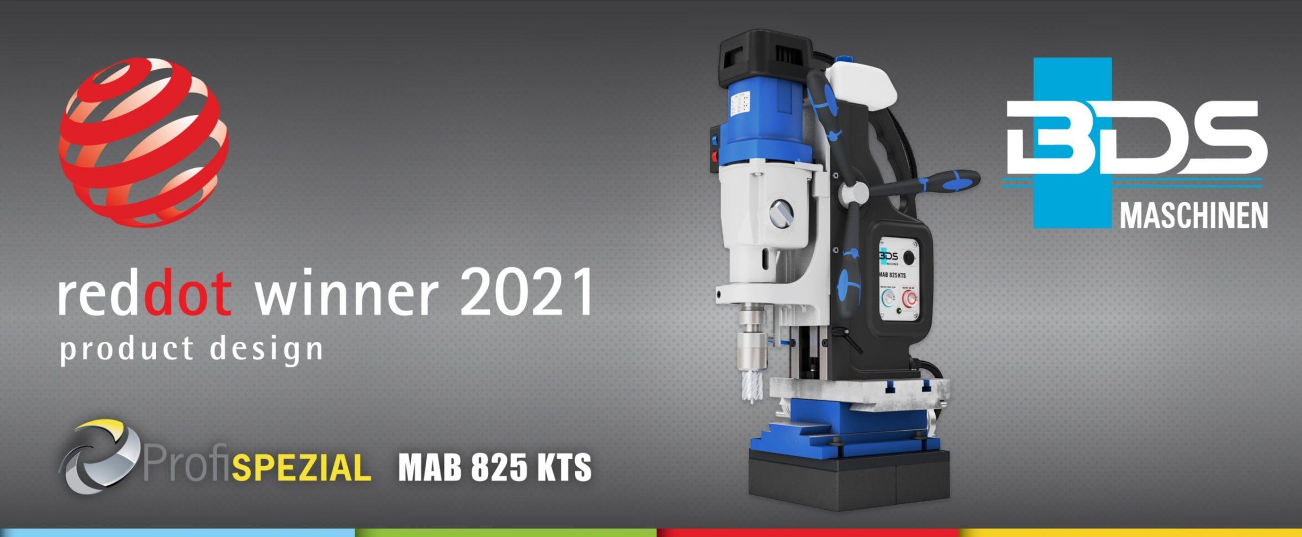 MAB 825 KTS - Winner of Red Dot Award: Product Design 2021