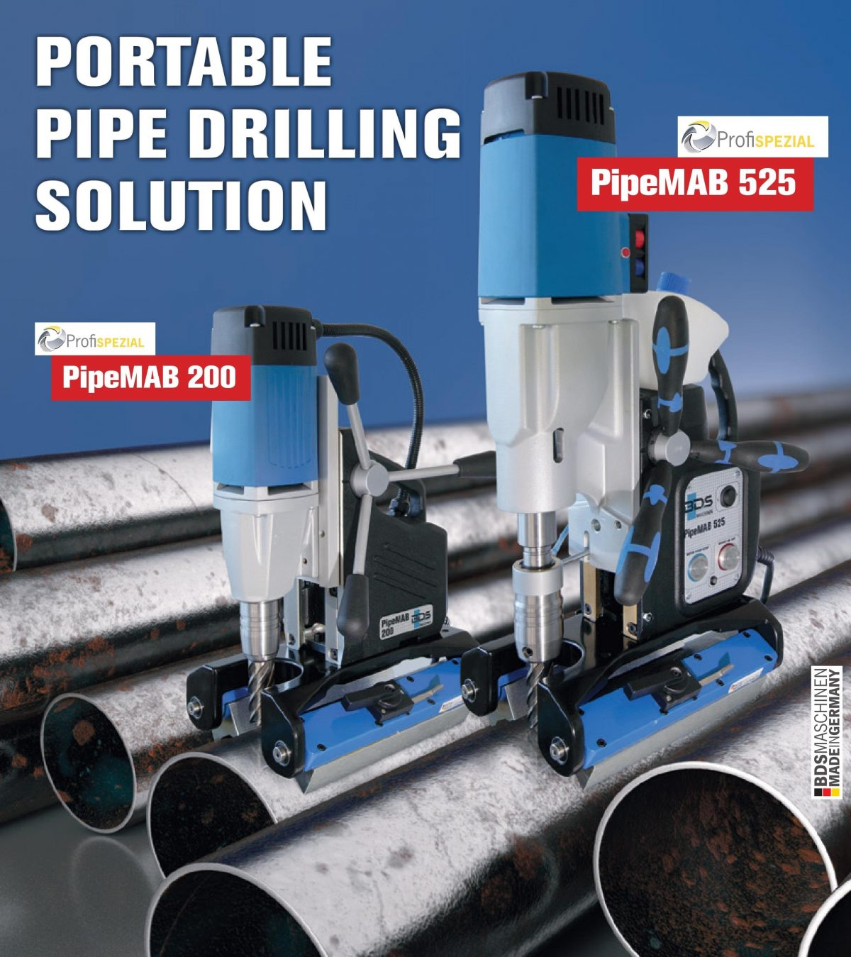 Pipe Drilling Machines